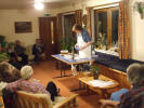 Cookery Demonstration in the Lounge at Glenholm